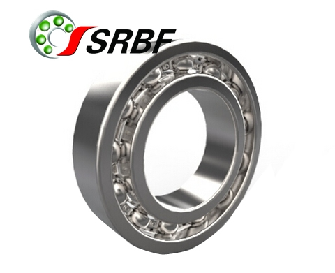 Hybrid deep groove ball bearings